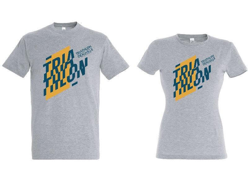 tee-shirt triathlon deauville