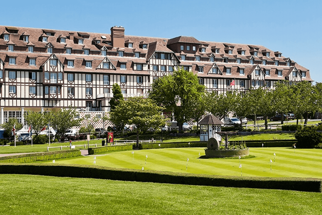 hotel du golf barriere deauville