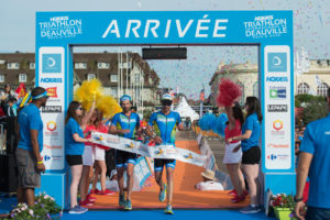 olivier lyoen antoine perel hoka one one triathlon international de Deauville