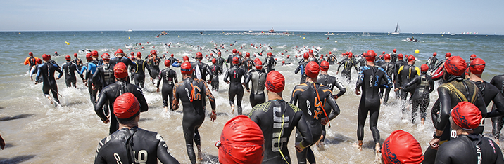 Triathlon international de Deauville maintenu