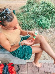 Testing produit Loubsolcare creme main