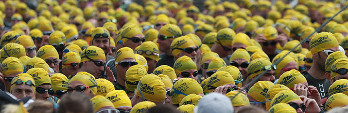 Take the challenge and participate to the most popular race of the Triathlon International de Deauville on Sunday, june 20, 2021 at 2:30pm. The Olympic distance is the most popular event on the program, with a capacity of 2000 participants.