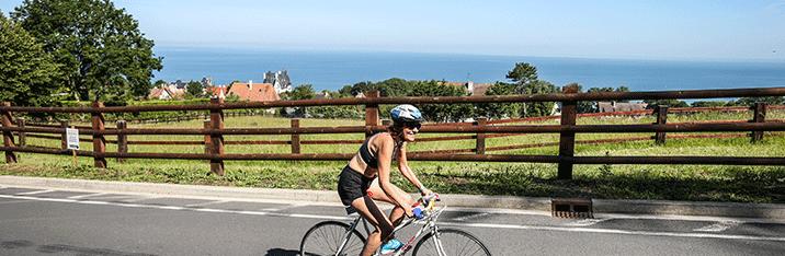 vélo triathlon de Deauville
