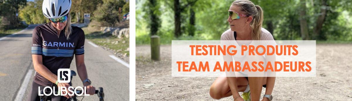 titaclem teste les produits Loubsol triathlon de deauvillle