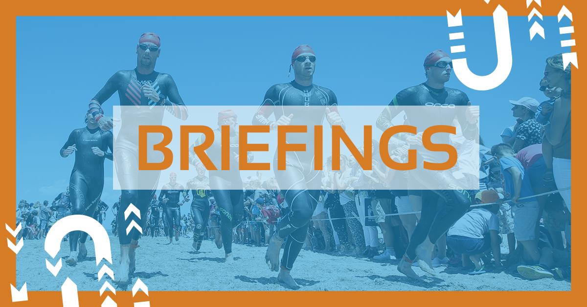 briefings epreuve triathlon de deauville