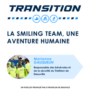 transition podcast smiling team